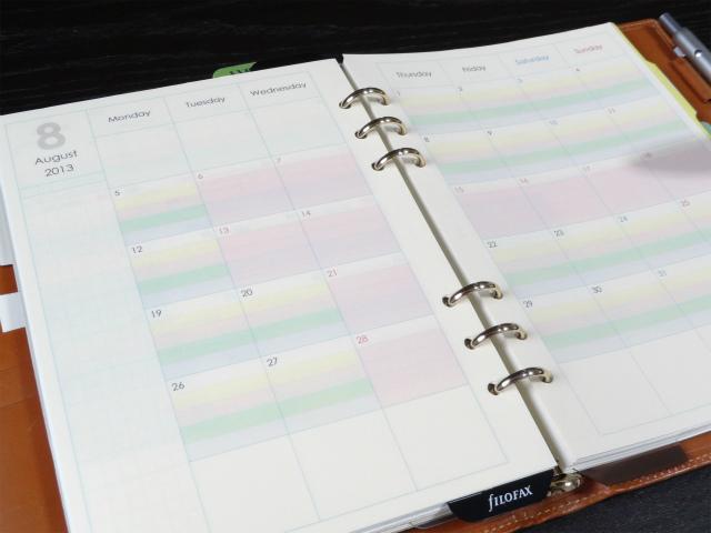 カレンダー カレンダー a5 : 手帳リフィルを自作するにはA5 ...